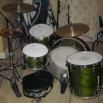 Big Drums in Living Room